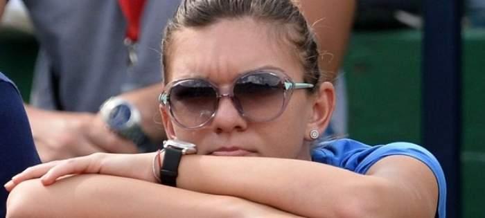 """Simona Halep, în lacrimi! Fotbaliștii """"Naționalei"""" s-au făcut de râs în fața ei"""
