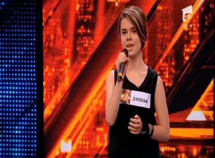 """VIDEO / Batjocorită la școală, apreciată la """"X Factor"""": """"M-au băgat la colţ, au spart o sticlă şi m-au tăiat"""""""