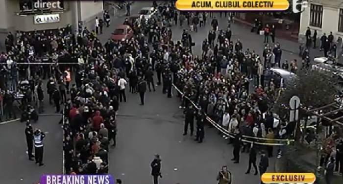"""Românii, solidari cu victimele de la """"Colectiv"""". Peste 12000 de oameni sunt deja în stradă!"""