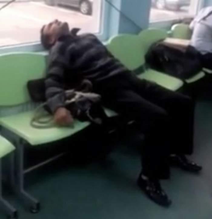 VIDEO REVOLTĂTOR  / UN BOLNAV cu dureri groaznice este lăsat să se CHINUIE pe holul SPITALULUI