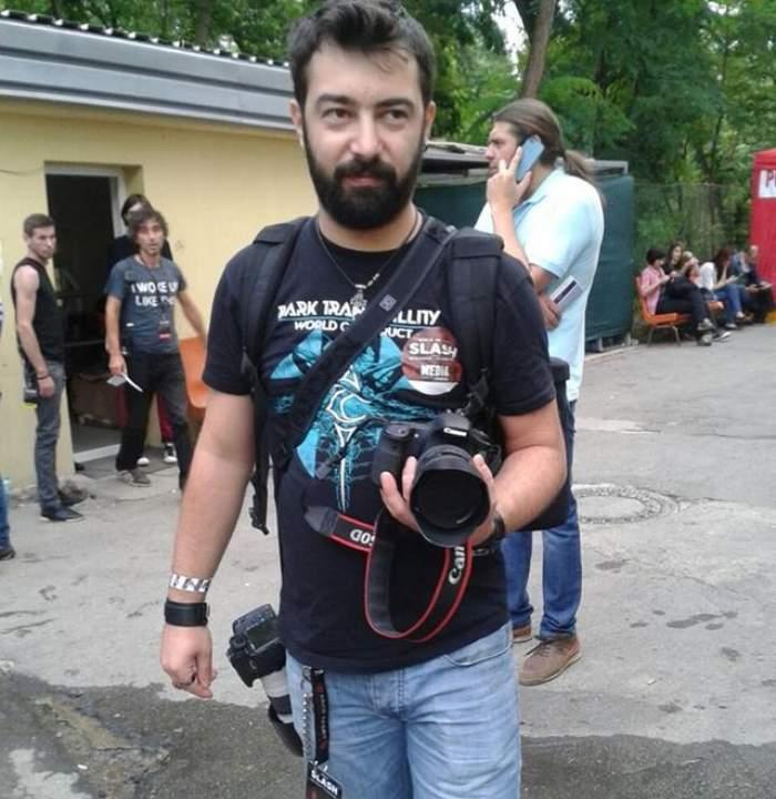 VESTE BUNĂ. Fotograful Cătălin Ilniţchi, rănit în incendiul din Colectiv, răspunde la tratament şi respiră singur