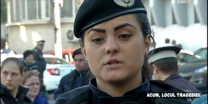 """O tânără de la Jandarmerie, cu ochii în lacrimi după dezastrul de la Clubul Colectiv: """"Un băiat m-a rugat să le spun pompierilor că prietena lui a rămas la baie, apoi l-am văzut la IML!"""""""