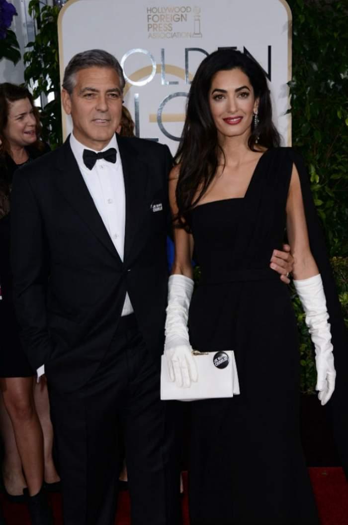 Veste mare la Hollywood! George Clooney şi Amal Alamuddin, părinţi