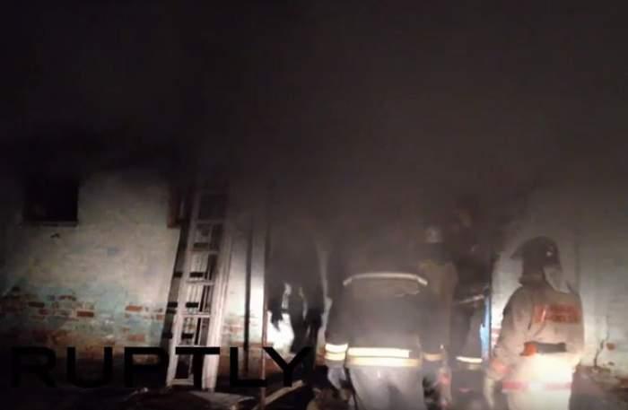 VIDEO / INCENDIU devastator la un spital psihiatric din Rusia! Cel puţin 23 de persoane AU MURIT şi 23 au fost rănite