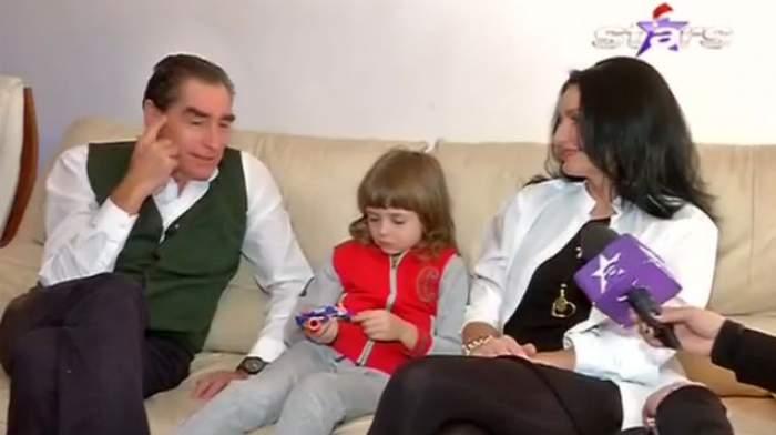 """VIDEO / Prima apariţie la TV a familiei lui Petre Roman. Cel mai sincer interviu: """"Sunt un om împlinit"""""""