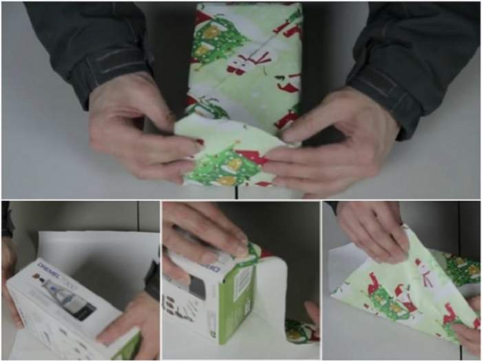Cum să împachetezi un cadou? Ai nevoie de un minut şi jumătate şi ajungi expert