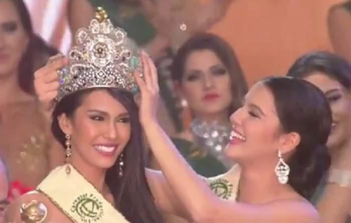 Ea a fost desemnată cea mai frumoasă femeie din lume! Angelia Ong a câştigat titlul de Miss World 2015