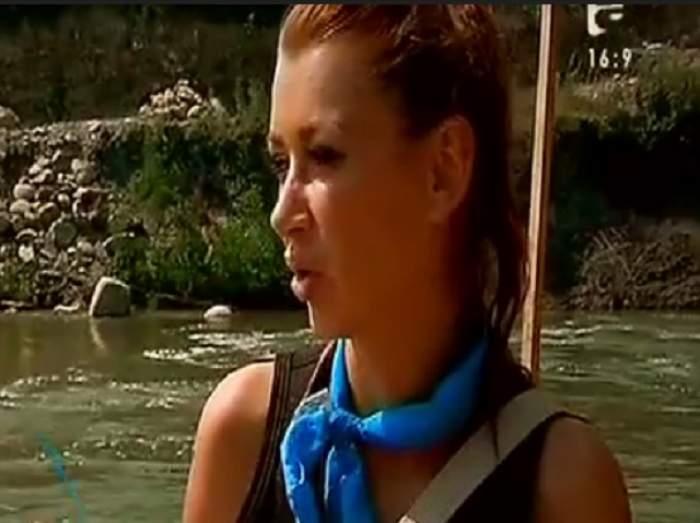 """VIDEO / Denisa de la Bambi, la un pas de moarte la """"Şerifi de România"""": """"Ne-am răsturnat şi nu mai reuşeam să ies din apă!"""""""
