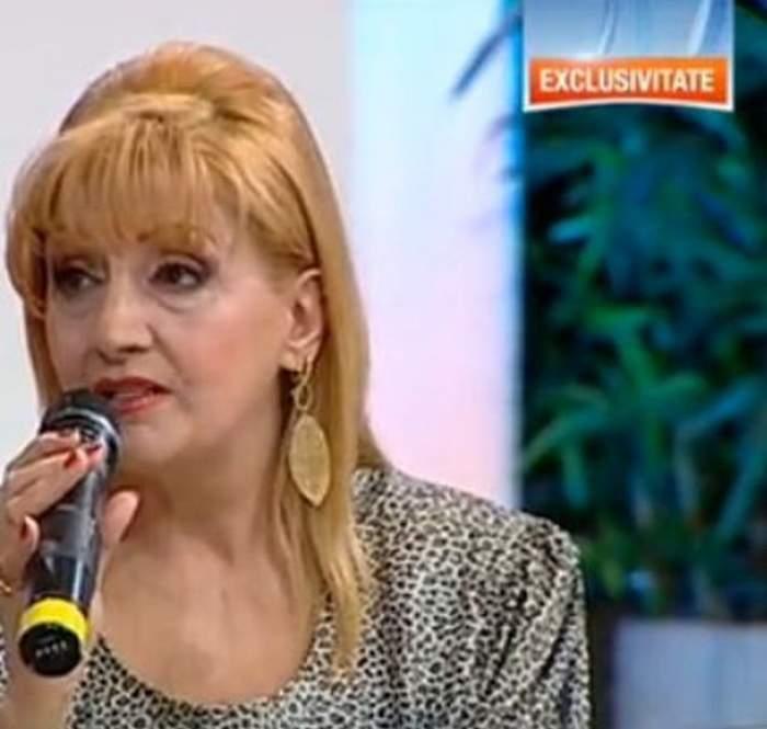 Ups! Ileana Ciuculete, poziţie neglijentă la TV! A avut sau nu lenjerie intimă?