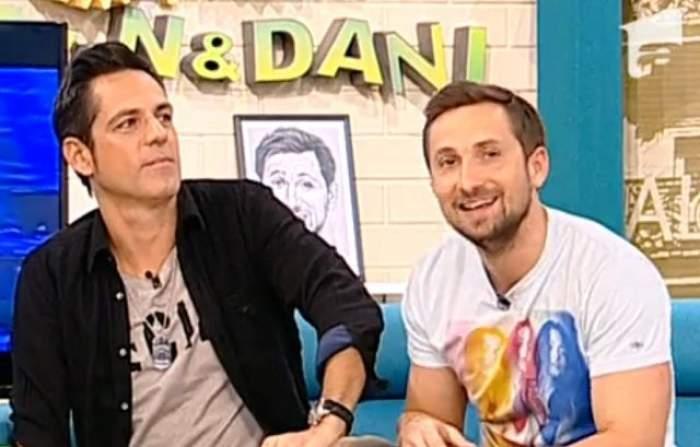 VIDEO / Am trăit să vedem şi asta! Ştefan Bănică jr. şi Dani Oţil au vorbit unul cu celălalt despre relaţia cu Mihaela Rădulescu