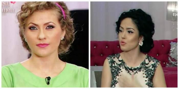 Mirela Vaida Boureanu şi Andreea Mantea, coafate la fel! Cui îi stă mai bine?