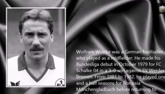 Doliu în lumea fotbalului internaţional! Wolfram Wuttke a murit la 53 de ani!