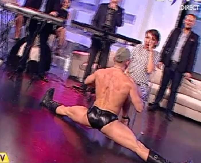 VIDEO / Guţă, nu te uita! Imagini INTERZISE cu Dana Roba şi un stripper HOT