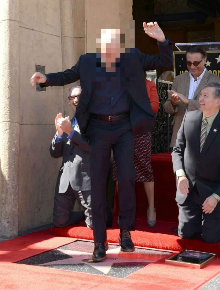 VIDEO & FOTO / Un actor celebru a primit  o stea pe Bulevardul Gloriei de la Hollywood