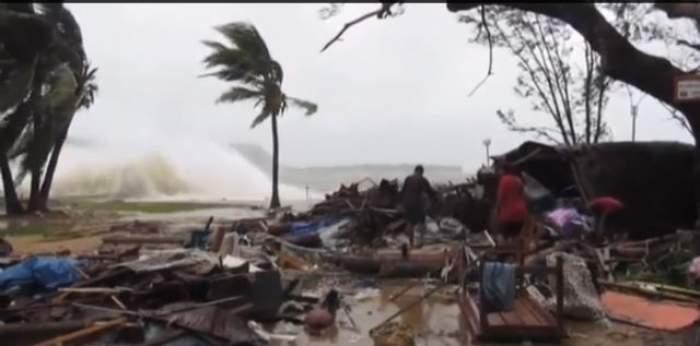VIDEO / Cel puțin 8 oameni au murit, după ce un ciclon a măturat o insulă