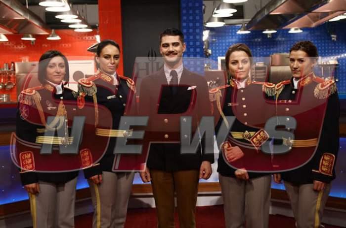 """Regim de armată la   """"Hell's Kitchen – Iadul bucătarilor"""": Regimentul 30 Gardă """"Mihai Viteazul"""" intră în bucătărie"""