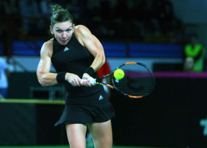 O nouă victorie pentru Simona Halep! S-a calificat în optimile de finală ale turneului de la Indian Wells