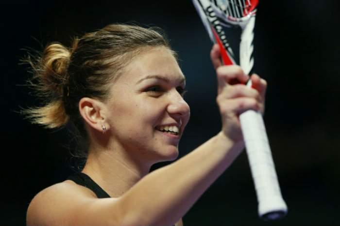 """""""Arma secretă"""" folosită de Simona Halep la turneul de la Indian Wells. A fost dată de gol"""