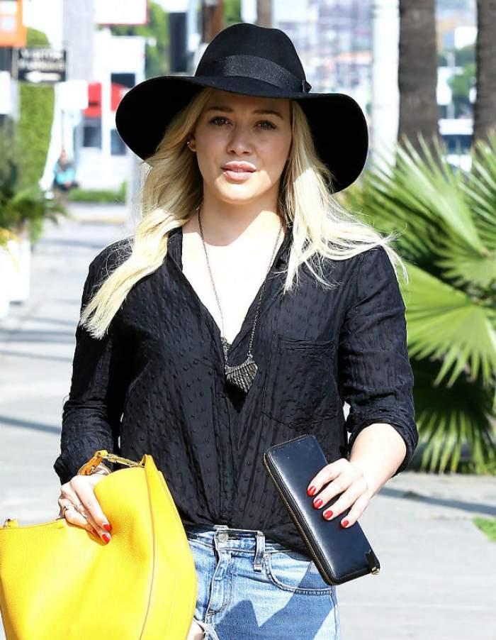 Hilary Duff şi-a schimbat radical look-ul! Uite cum arată vedeta