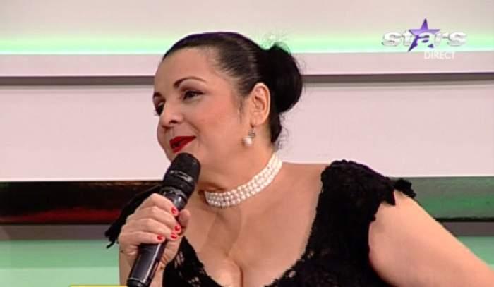 Aurel Pădureanu, surpriză de proporţii pentru Cornelia Catanga! Ce a primit cântăreaţa de Mărţişor?