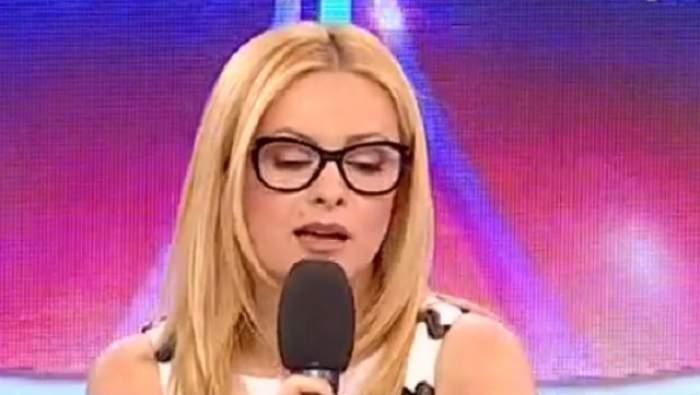 """Simona Gherghe în lacrimi, în timpul emisiunii """"Acces direct""""! Ce a păţit frumoasa prezentatoare"""