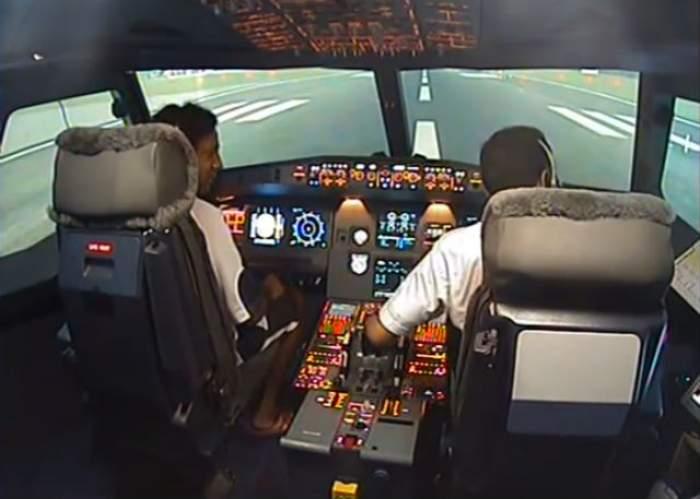 Aterizare de urgență a unui Airbus A320 al companiei spaniole Vueling! În avion s-a simţit miros de fum