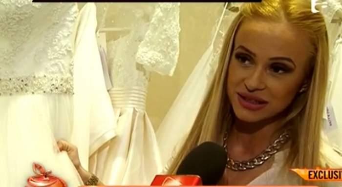 VIDEO / Anda Adam, pregătiri de nuntă! Artista a probat rochia de mireasă
