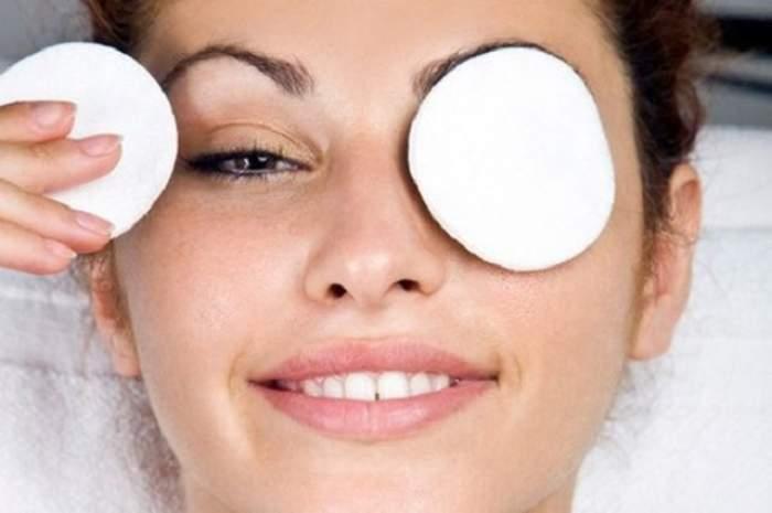 VIDEO / Cum scapi de pungile de sub ochi? Remediu rapid şi eficient