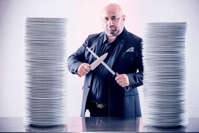 """FOTO / A venit la """"Hell's Kitchen"""" ca să-l cucerească pe Cătălin Scărlătescu! Ea e concurenta care vrea să ajungă din bucătărie în inima Chef-ului"""