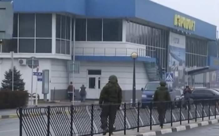 Alertă cu bombă! Aeroportul din Crimeea a fost imediat evacuat