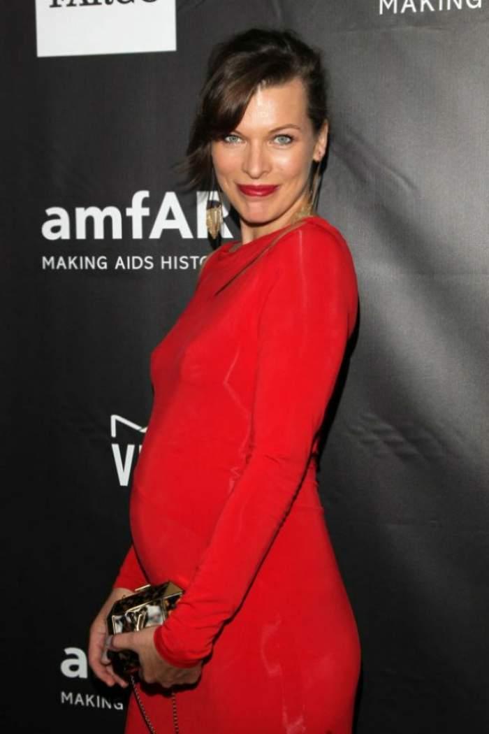 Bucurie mare! Actriţa Milla Jovovich a născut