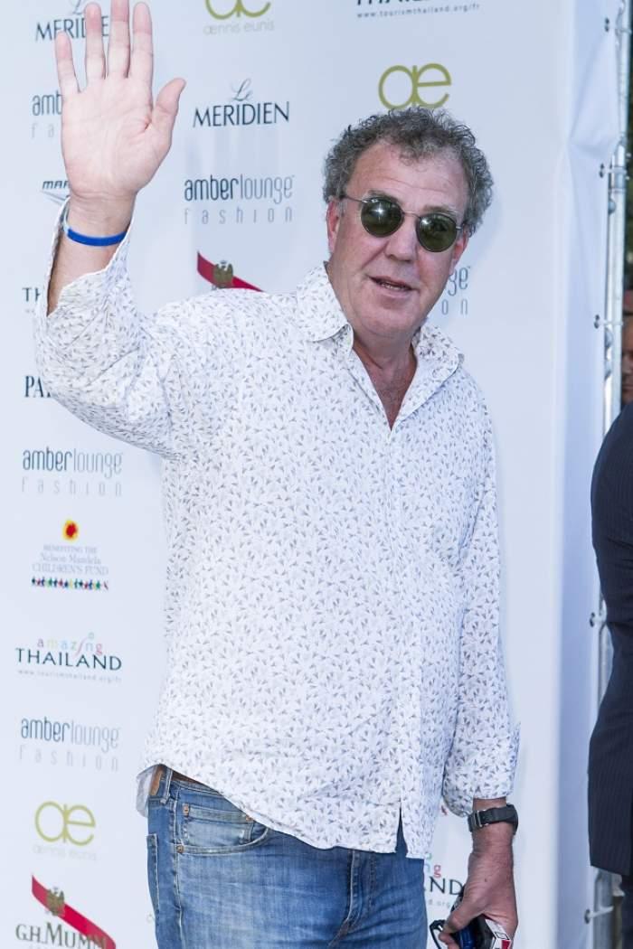 Prima reacţie a lui Jeremy Clarkson, după ce a fost concediat