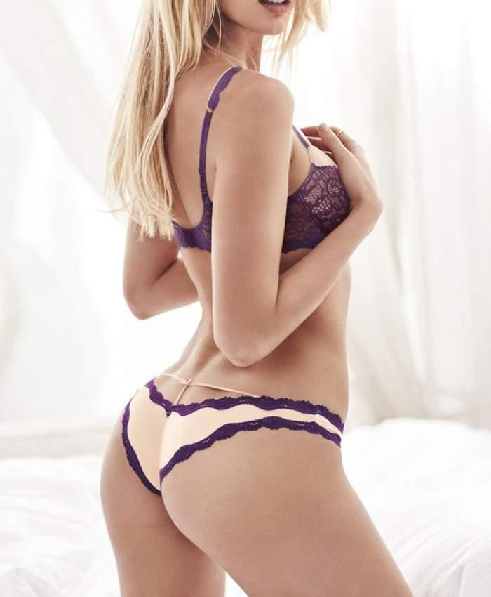 FOTO / Aşa forme mai rar! Un model celebru s-a jucat cu imaginaţia bărbaţilor, într-o lenjerie sexy