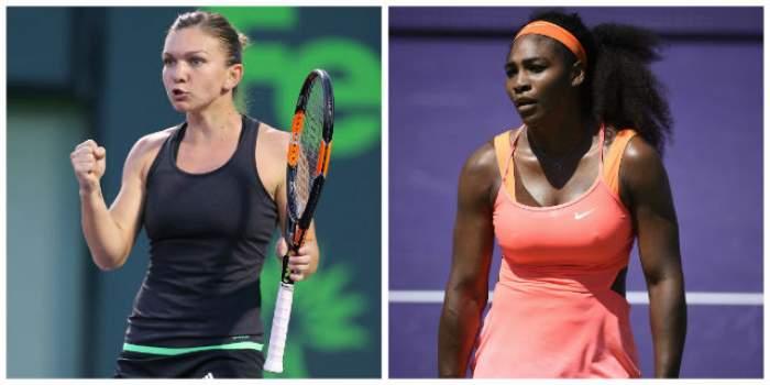 Hai, Simona! Tenismena va juca în această noapte cu Serena Williams