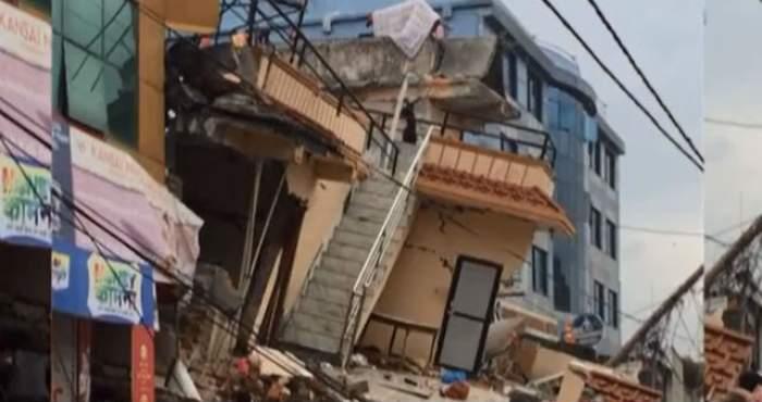 VIDEO / Un cutremur EXTREM de puternic s-a produs în Nepal! Bilanţul dezastrului