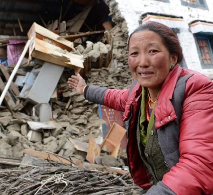 FOTO / Emoţionant! Cum arată vieţile locuitorilor din Nepal, după cutremurul care a devastat regiunea?