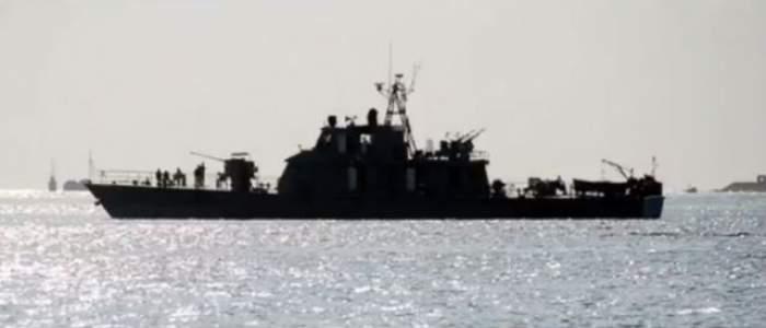 Îngrozitor! O navă la bordul căreia ar fi marinari români, arestată de marina militară iraniană