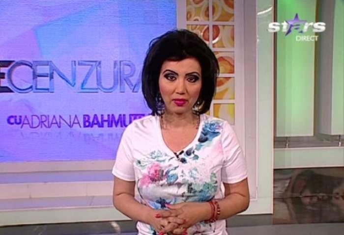 """Cum a venit Adriana Bahmuţeanu la emisiunea """"Necenzurat"""": """"Sunt superbisimă!"""""""
