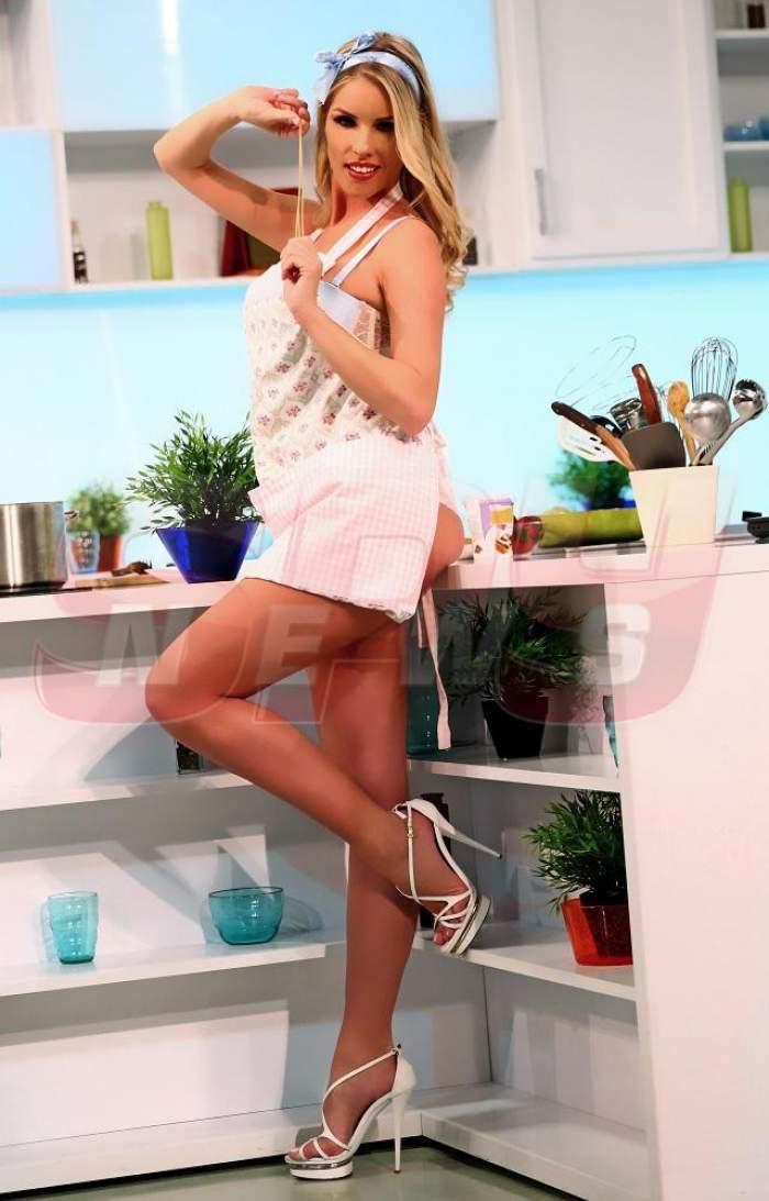 Nebunie totală! Când vei vedea imaginile astea nu vei mai ieși din bucătărie! Florentina Raiciu, mai sexy ca niciodată