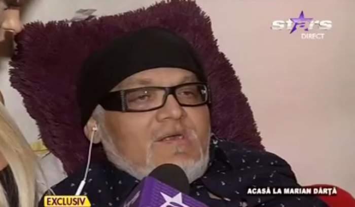 """Recidivează boala? Marian Dârţă, din nou, în stare critică: """"Nu pot să mă ridic din pat!"""""""