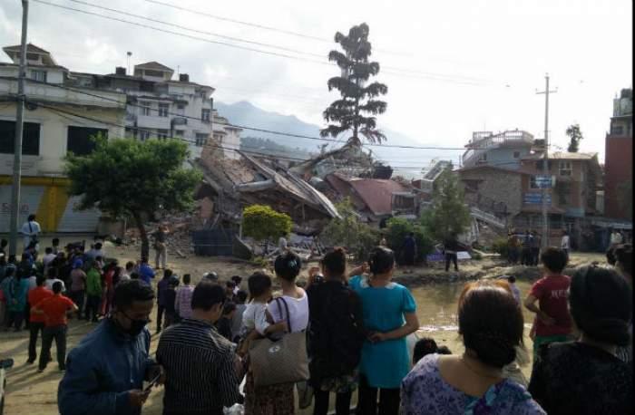 VIDEO/ Cel puţin 42 de morţi în urma cutremurului de azi din Nepal!