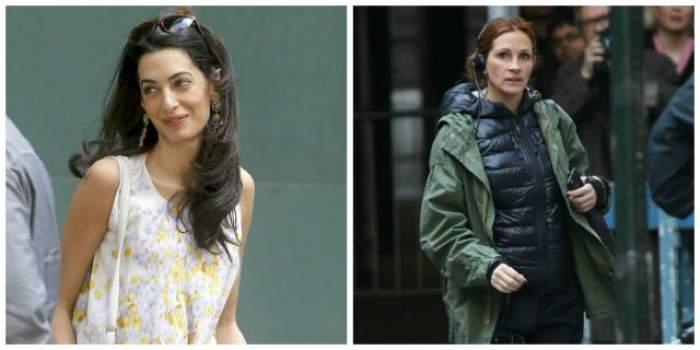 Amal Clooney, geloasă pe Julia Roberts? Gestul ei ridică semne de întrebare
