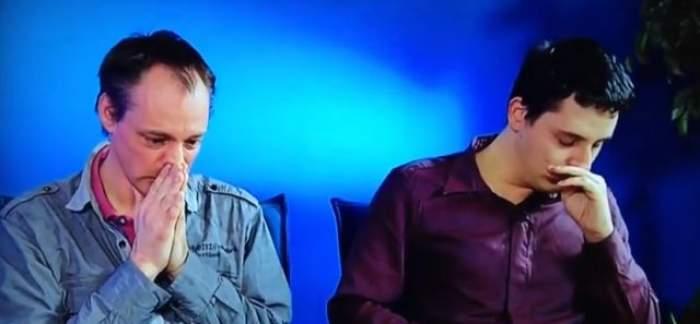 VIDEO / Momentul şocant în care doi homosexuali au aflat, ÎN DIRECT, că sunt fraţi