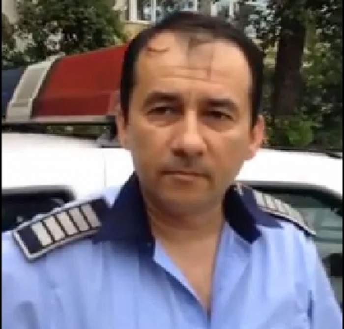 VIDEO de tot RÂSUL. Un POLIŢIST de la secţia 15 din Capitală este UMILIT de un CETĂŢEAN. Nimeni nu ar trece peste o aşa ÎNJOSEALĂ