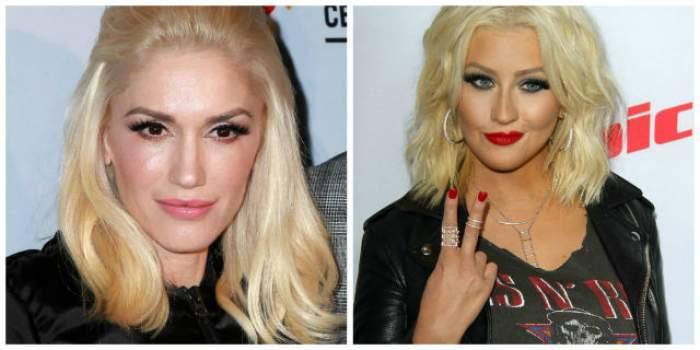 """Gwen Stefani o înlocuieşte pe Christina Aguilera în show-ul """"Vocea"""""""