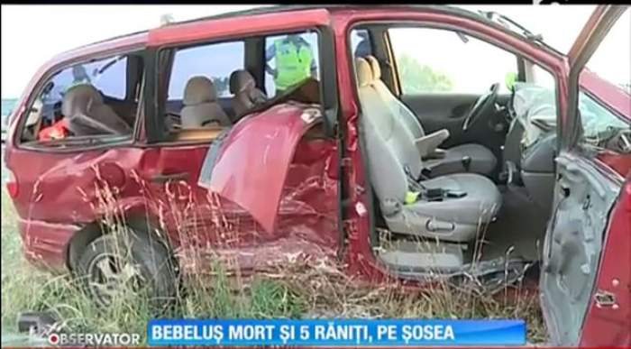 VIDEO / Tragedie pe şosea. Un bebeluş a murit în chinuri groaznice din cauza unui şofer neatent