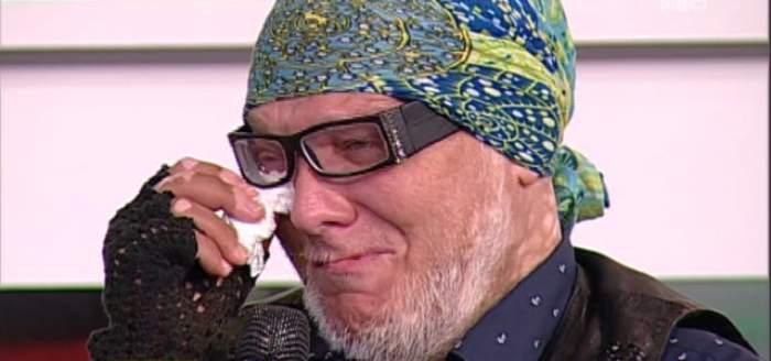 """Marian Dârţă, din nou în lacrimi: """"Trăiesc cu frică. Când mă trezesc, mă pipăi peste tot, prin cap, să nu îmi apară vreo gâlmă!"""""""