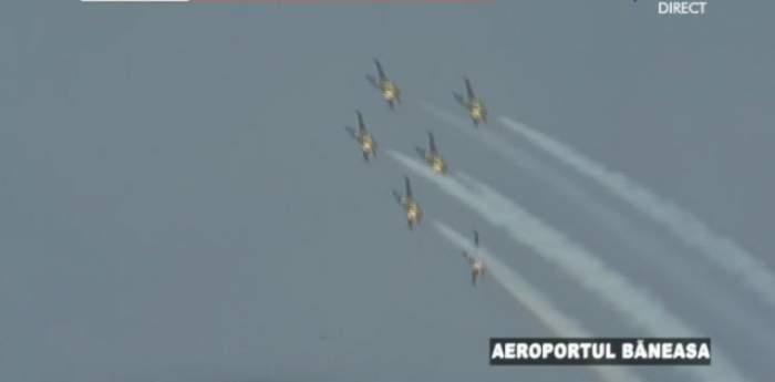 Bucharest International Air Show, spectacol la înălţime! Piloţii vor executa acrobaţii cum n-ai văzut nici în filme