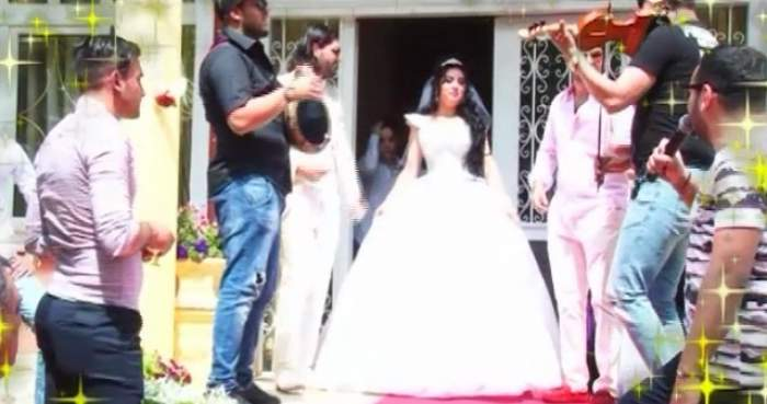 VIDEO / Imagini de la nunta nepoatei Reginei Magiei Albe! Maria Câmpina, nuntă de lux pentru Ribana şi Elisei