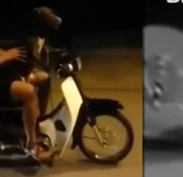 VIDEO / Şi-a lăsat câinele să-i conducă motocicleta! Imaginile sunt cu adevărat incredibile